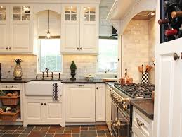 existing countertops glass mosaic tile maple doors staineless
