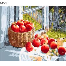 Apple Decor For Home Online Get Cheap Apple Flower Picture Aliexpress Com Alibaba Group