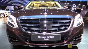 mercedes benz maybach 2016 mercedes benz maybach s600 exterior and interior walkaround