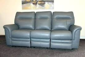 Gray Leather Reclining Sofa Gray Leather Sofa Pterodactyl Me