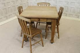 EDWARDIAN EXTENDING DINING TABLE PINE EXTENDING KITCHEN DINING TABLE - Pine kitchen tables and chairs