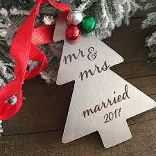 just married ornament marriage ornament newly married