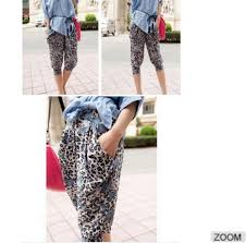 summer style capri free size spring summer breathable korean style women fashion pants
