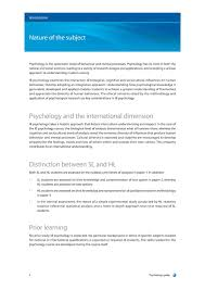 ib psychology guide first exam simplebooklet com