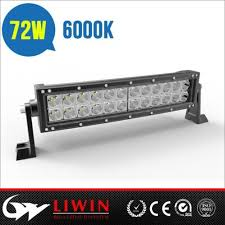 battery operated light bar super bright battery powered led light bar china l4x 3w curved 3w