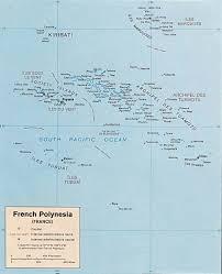 Map Of Tahiti Worldrecordtour Oceania Pacific South Sea Polynesia French