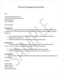 6 financial letter templates 6 free sample example format