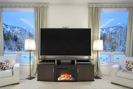 large electric fireplace entertainment center good better best