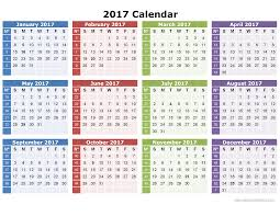 printable calendar year on one page 2017 calendar printable one page download image full size pdf