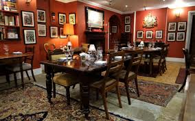the dining room santa monica empire room kent u0027trad cosy welcoming perfectly wintry slash