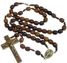wooden rosaries wooden rosary with miraculous medal junction fastener uk