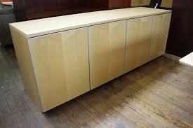 Maple Reception Desk by Nienkamper Vox 4 Door Maple Credenza U2022 Peartree Office Furniture