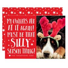 pet christmas dog christmas invitations announcements zazzle