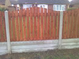 uncategorized convex wooden backyard fence ideas facing house