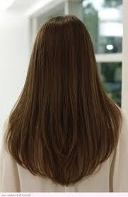 v cut hair styles v style haircut with layers long layered v cut haircuts back view