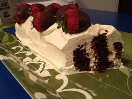 busy kitchen mum chocolate ripple cake