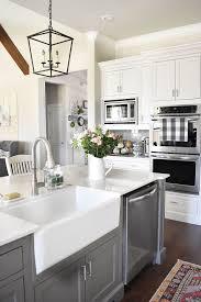 cheap farmhouse kitchen sink kitchen farmhouse sinks gray and white modern curtains throughout