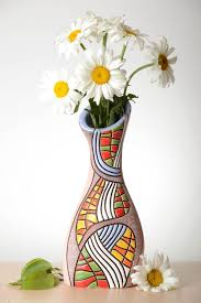madeheart u003e beautiful handmade ceramic flower vase pottery works