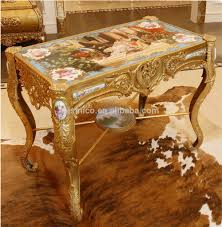 luxury french louis xv style bronze coffee table royal palace