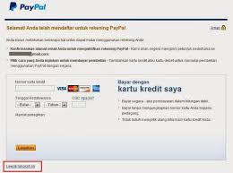 cara membuat paypal online tutorial cara daftar paypal terbaru 2015 panduankomputer