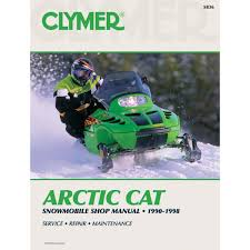 amazon com clymer artic cat snowmobile 1990 1998 home audio