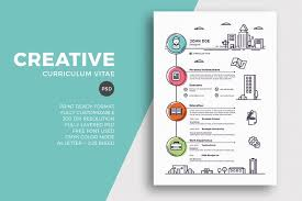 template curriculum vitae creative creative resume cv template by sztufi on envato elements