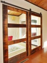 Reclaimed Barn Door Hardware by Interior Barn Door Kit With Glass Panel Interior Barn Door Kit