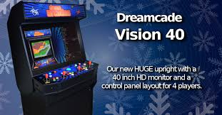 Turn A Coffee Table Into An Awesome Two Player Arcade Cabinet by Dream Arcades Multi Game Video Arcade Machines