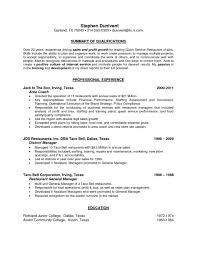 restaurant resume template restaurant server resume templates