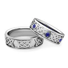 wedding rings his hers celtic wedding rings his and hers mindyourbiz us