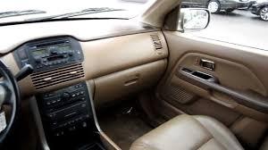 2005 honda pilot ex l 2005 honda pilot ex l 4wd beige stock b2073 interior