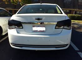 2014 cruze tail lights pictures of diy tinted tail lights