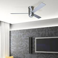contemporary hugger ceiling fans living room style