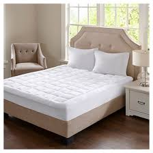 heavenly soft overfilled plush waterproof mattress pad target