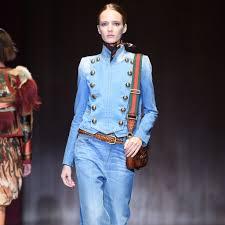 gucci brings us that u002770s fashion show milan fashion week