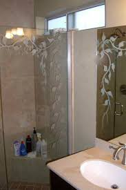 Etched Bathroom Mirror Etched Glass Bathroom Mirror Sans Soucie Glass