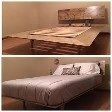 the 25 best diy queen bed frame ideas on pinterest diy bed