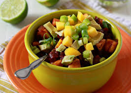 slow cooker black bean u0026 mango chili kitchen treaty
