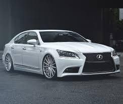 lexus usa ls460 lexus ls460 vossen vfs2 silver polished