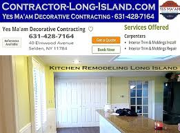 Long Island Kitchen Remodeling Contact Yes Ma U0027am Decorative Contracting Long Island Ny