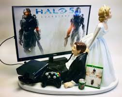 xbox cake topper gamer addict xbox one wedding cake by pieceofcaketoppers4u