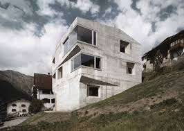 contemporary concrete homes designs plans haammss image on