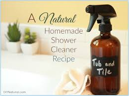 homemade shower cleaner natural shower tub u0026 tile spray