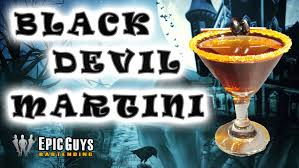 martini halloween how to make a black devil martini cocktail halloween cocktail