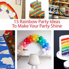 15 rainbow birthday ideas ideas for