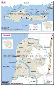 Where Is India On The Map by U T Daman And Diu Facts And Information Travel Guide