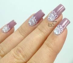60 latest half moon nail art designs