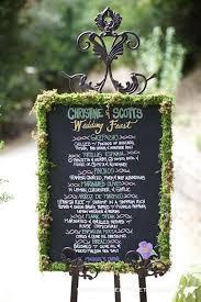 wedding chalkboard wedding trends 2013 chalkboard wedding decor and details