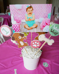 party centerpieces diy puppy party centerpieces instant digital