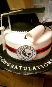 university of phoenix theme college graduation cake celebrate